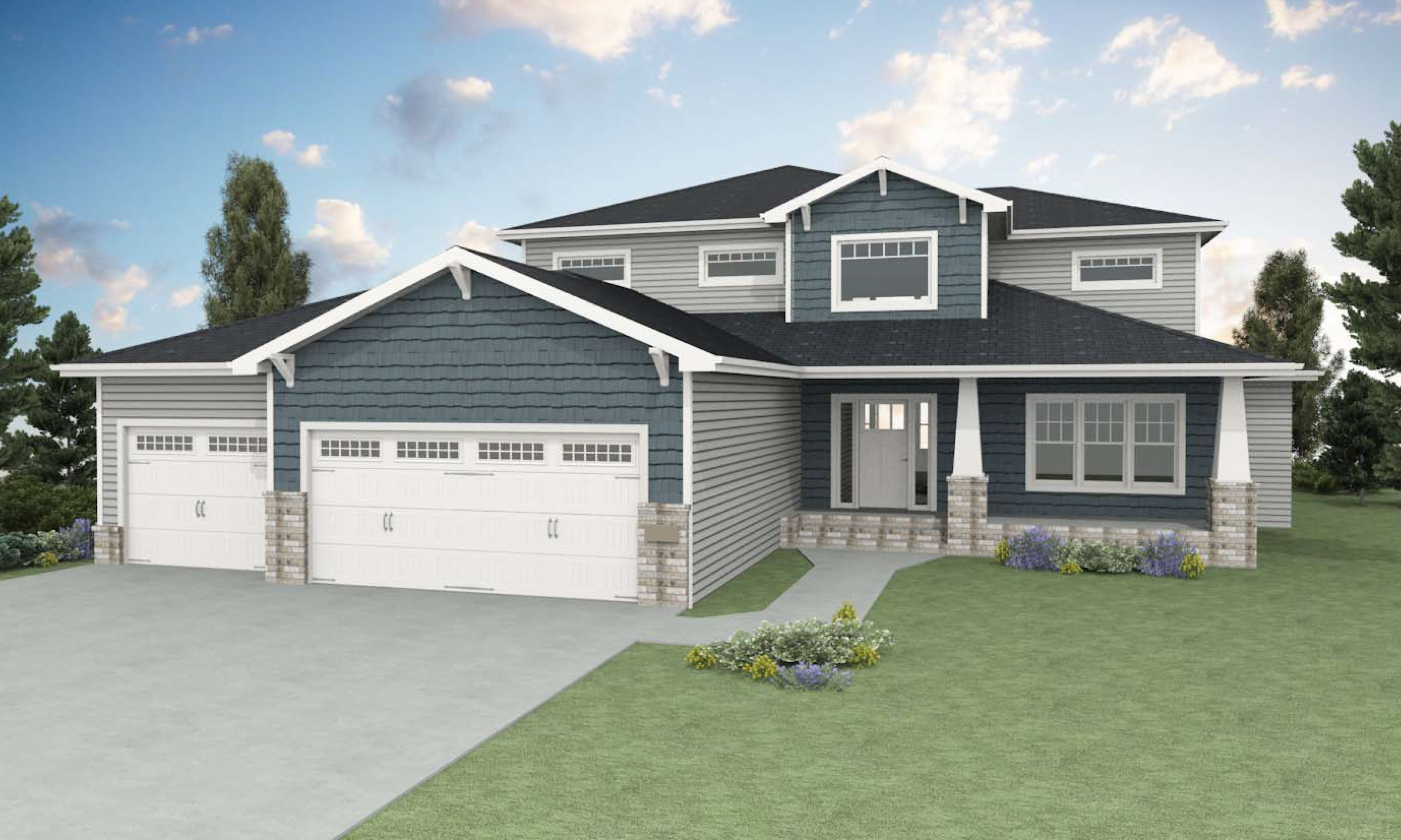 Our home designs heritage homes fargo moorhead custom for Fargo nd home builders